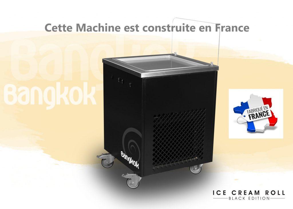 la machine a glace rouleau