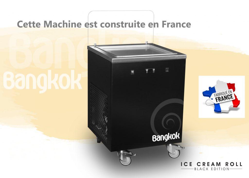 machine roll ice cream